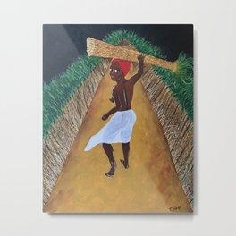 Sugarcane Metal Print