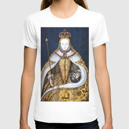 Queen Elizabeth I of England in Her Coronation Robe T-shirt