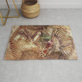 Scary Monster Rug