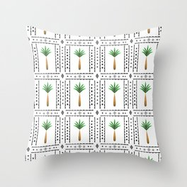 Arabian Palms Throw Pillow