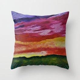 Sunset Memories Throw Pillow