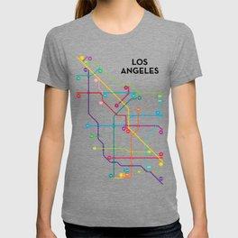 Los Angeles Freeway System T-shirt