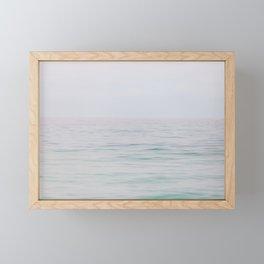 Rolling Waves - Lake Michigan Photography Framed Mini Art Print