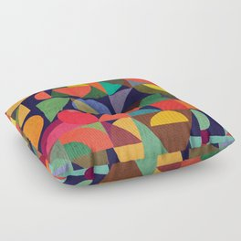 Color Blocks Floor Pillow
