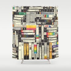 VHS Shower Curtain