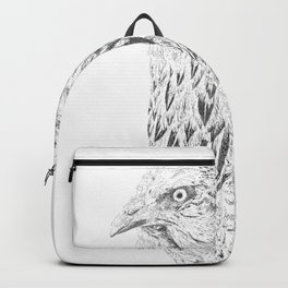 she's a beauty drawing Backpack