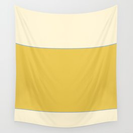 Warm Sunlight Color Block Wall Tapestry