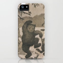 Theodor Kittelsen Dans i Maaneglans iPhone Case