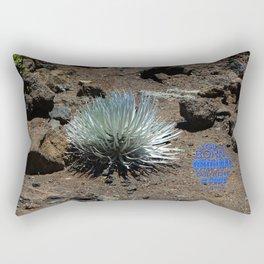 """""""Ahinahina"""" An original   don't be a copy Rectangular Pillow"""