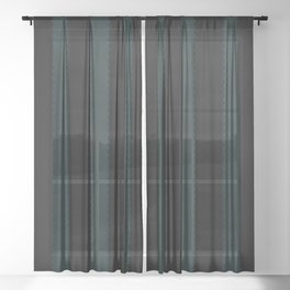 Gothic Stripes IV Sheer Curtain