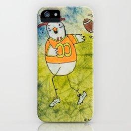 Football Chicken iPhone Case