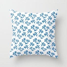Seaweed Pattern Throw Pillow