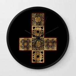 Lament Configuration Cross Wall Clock