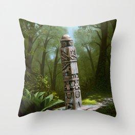Slavic Mythology Throw Pillow