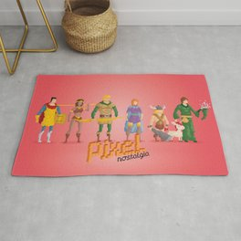 Dungeons and Dragons - Pixel Nostalgia Rug