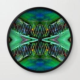 Textures Eye (view 4) Wall Clock