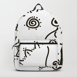 Paleolithic venus Backpack