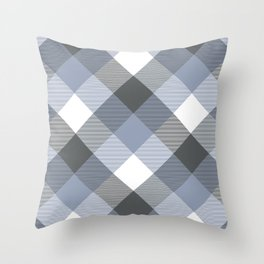 Geometrical Square Abstraction 13 Throw Pillow