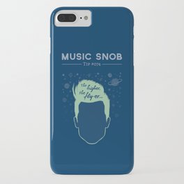 The Higher, The Fly-er — Music Snob Tip #074 iPhone Case