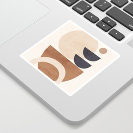 Abstract Minimal Shapes 33 Sticker