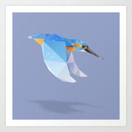 Kingfisher. Art Print