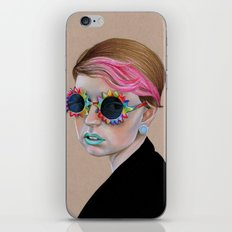 Pop Glasses iPhone Skin