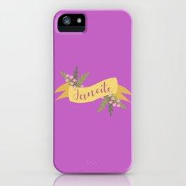 Janeite I iPhone Case