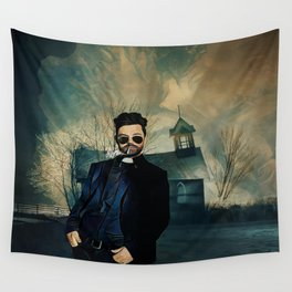 Preacher Wall Tapestry