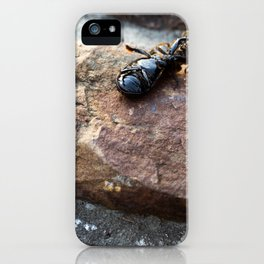 Beetle's Mediocre Day iPhone Case