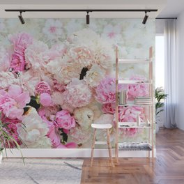 summer peonies Wall Mural
