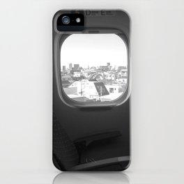 Tokyo from the bullet train iPhone Case