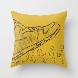 Giant shoe Throw Pillow