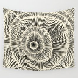 Hand Drawn Patterned Abstract III Wall Tapestry
