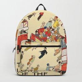 London Underground Vintage Backpack