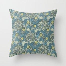 William Morris Seaweed Throw Pillow