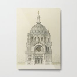 Church of St. Augustine Paris Metal Print