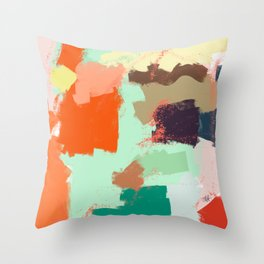 Ambience 040 cicicocolors Throw Pillow