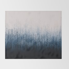 Jean Ombré Throw Blanket