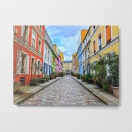 Parisian Perfection: Rue Crémieux Metal Print