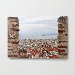 Byzantine view of Thessaloniki Metal Print