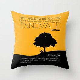 Innovate Throw Pillow