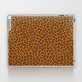 Dark leopard animal print Laptop & iPad Skin