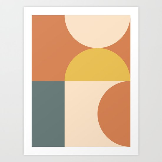 Abstract Geometric 04 by theoldartstudio