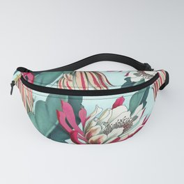 Flowering cactus III Fanny Pack
