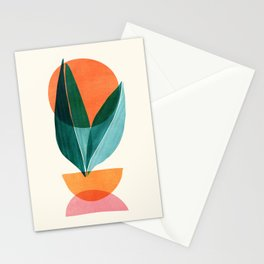 Nature Stack II / Abstract Shapes Illustration Stationery Cards