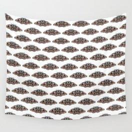 light grey moth Wall Tapestry