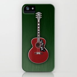 Gibson Acoustic Rockabilly iPhone Case