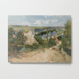 Entrance to the Village of Osny Metal Print