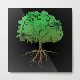 Tree Forest Nature Metal Print