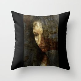 sadness Throw Pillow